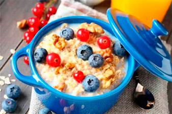 Овсяная каша на завтрак для похудения при ПП