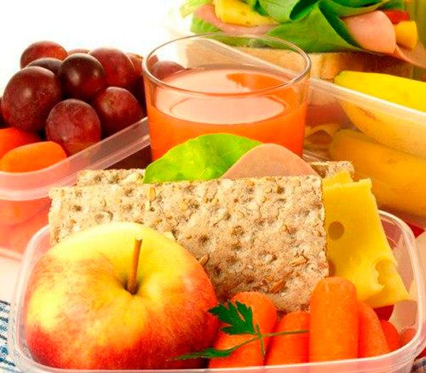 Полезные перекусы на правильном питании