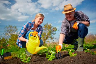 Расход калорий при работе в саду