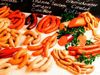 Вред колбасы и сосисок