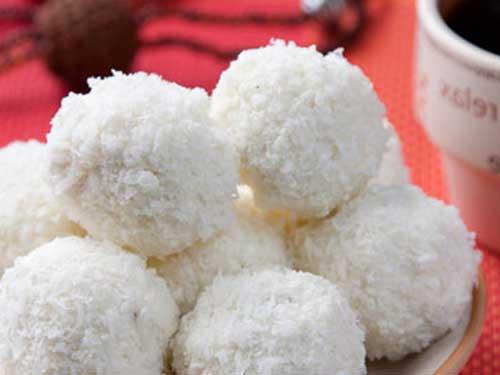 Быстрый простой рецепт творожных шариков на перекус
