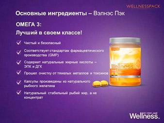 wellness Омега-3 рыбий жир