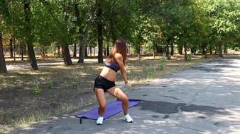 Тренировка для талии и косых мышц пресса