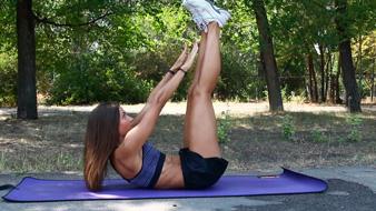 Упражнения для тонкой талии и косых мышц пресса
