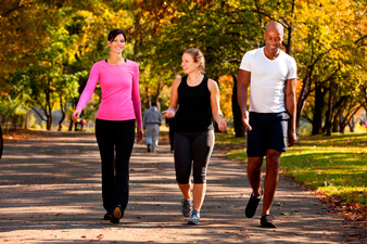Пешая прогулка для сжигания калорий