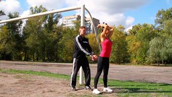 упражнения со жгутом