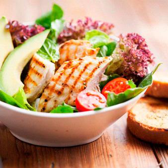 легкая белково-углеводная еда перед тренировкой